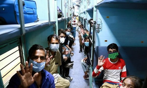 Two Shramik special trains bring more than 2900 people back to state