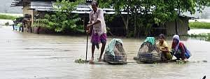 Assam flood toll at 3; situation unchanged