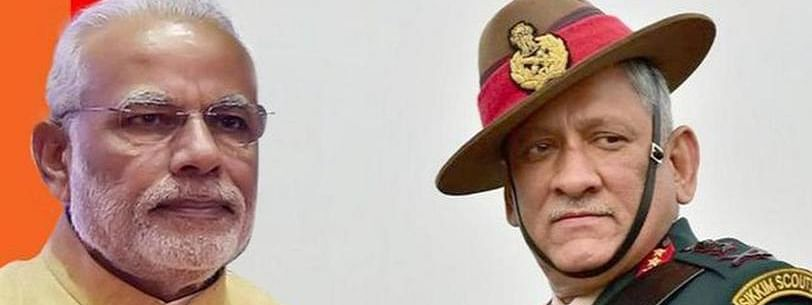 PM, top military chiefs review Ladakh