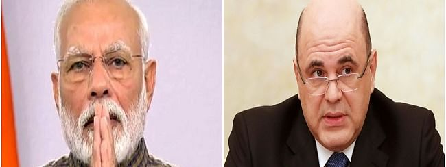 PM Modi wishes Russian counterpart early recovery from COVID-19