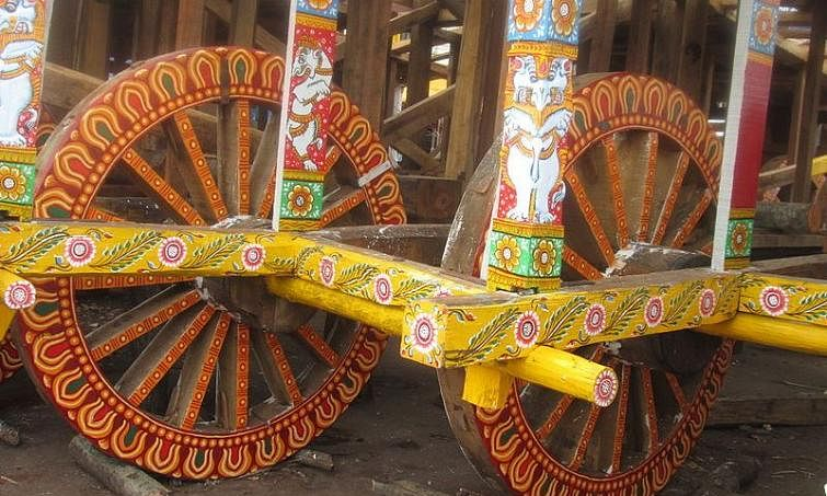 Corona Impact: All engaged in Chariots construction for Puri Car festival to remain in isolation for 45 days