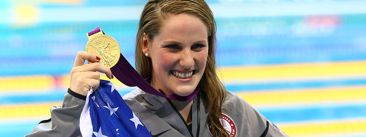 Missy Franklin commits to support Indian community sport