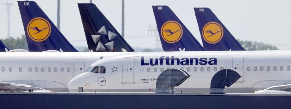 Lufthansa agrees to give up airport slots for $9.7bn bailout
