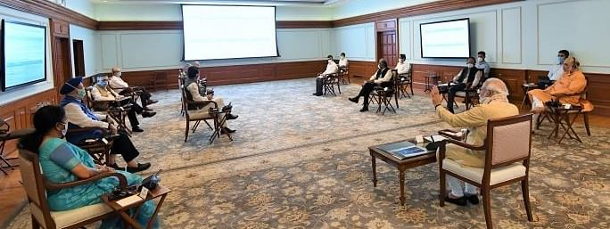 PM holds review meeting to discuss Civil Aviation Sector