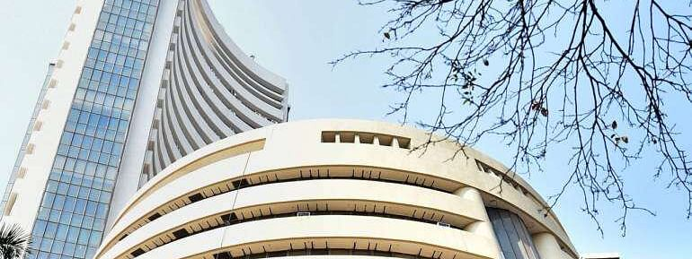 Sensex breaches 34K level; Up by 597 pts