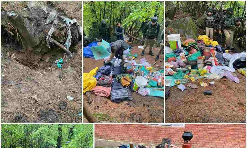 Militants hideout busted, ammunition recovered in Kulgam