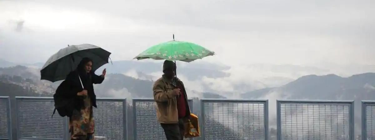 Heavy downpour in Himachal's Hamirpur