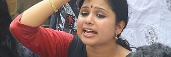 Veena Nair, Congress youth leader's FB post in controversy