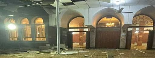 Two killed in bomb attack inside Kabul mosque