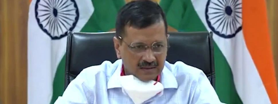 "Kejriwal launches ""Delhi Corona"" app"