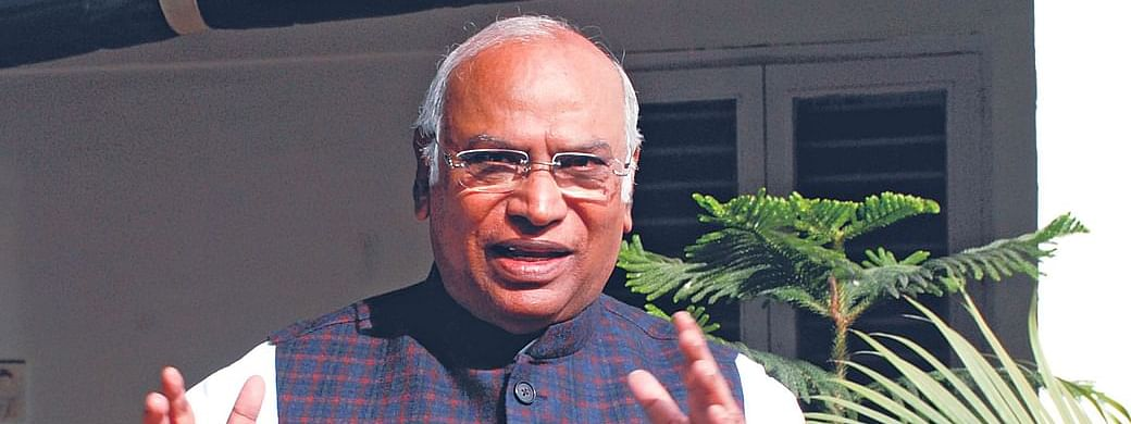 Cong announces Kharge's name for upcoming RS polls from Karnataka