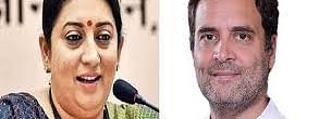 Smriti hits out at Rahul Gandhi over elephant killing incident in Kerala