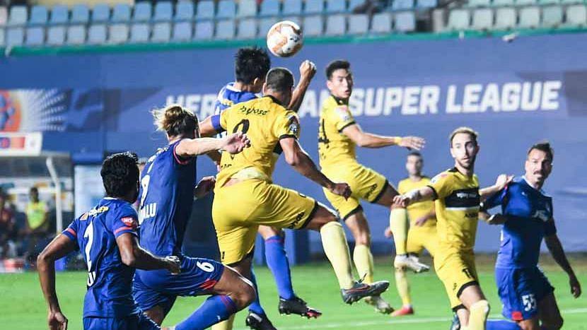 ISL: হায়দারাবাদের বিরুদ্ধে ২-০তে এগিয়ে থেকেও ড্র বেঙ্গালুরু এফ সি-র