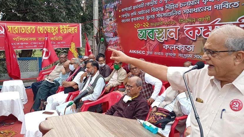 WB Election 21: বিজেপিকে ভোট না দেওয়ার আবেদন নিয়ে ১১ মার্চ কলকাতায় সংযুক্ত কৃষক মোর্চা