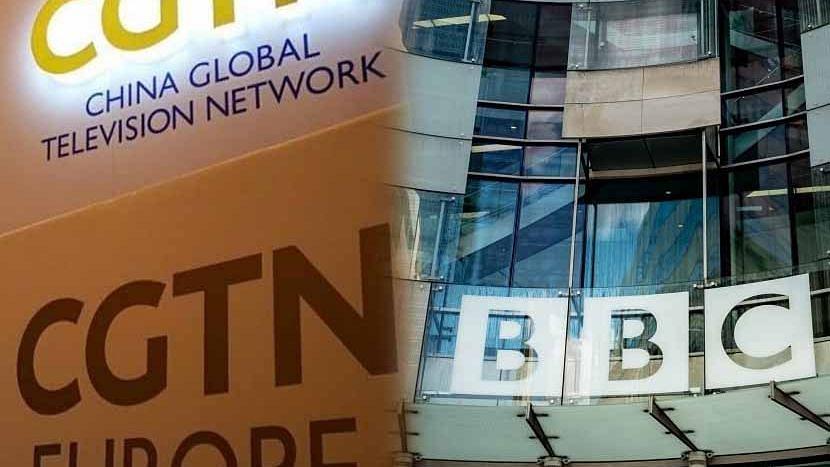 মিডিয়া যুদ্ধ - CGTN কে ব্রিটেনে নিষিদ্ধ করার এক সপ্তাহের মধ্যে চীনে নিষিদ্ধ BBC