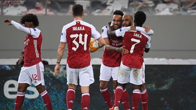UEFA ইউরোপা লীগের শেষ ১৬ তে আর্সেনাল, ম্যান ইউ, গ্রানাদা