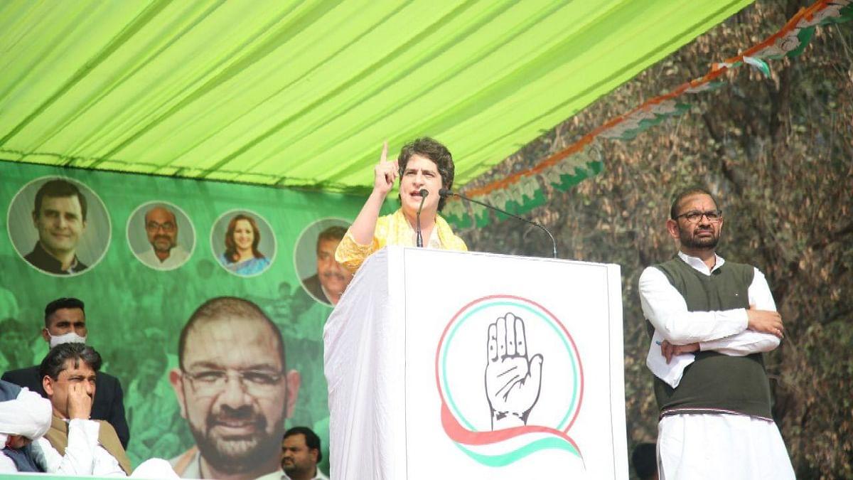 পিছু হটবেন না, এই সরকারকে হারাতেই হবে - মুজফ্ফরনগরের মহাপঞ্চায়েতে প্রিয়ঙ্কা গান্ধী