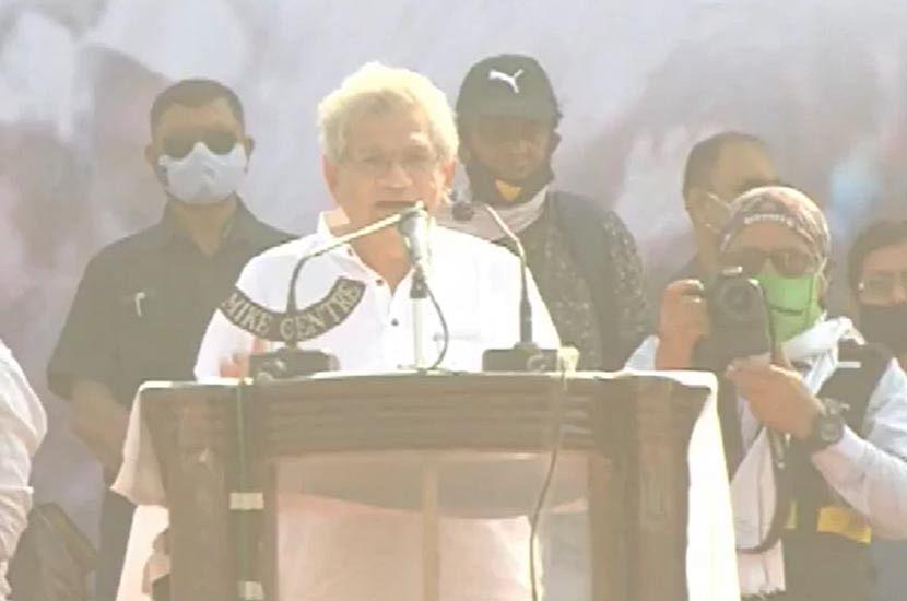 ব্রিগেডে সীতারাম ইয়েচুরি