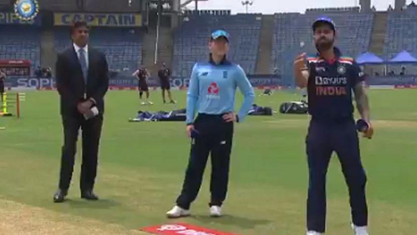 ODI: ভারতের বিরুদ্ধে টসে জিতে প্রথমে বোলিং-এর সিদ্ধান্ত ইংল্যান্ডের