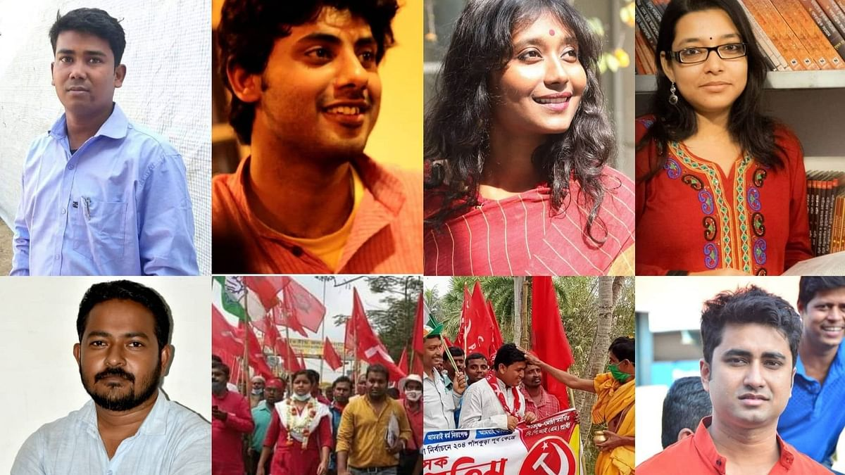 WB Election 21: এক নজরে বামেদের তরুণ ব্রিগেড (ছবি)