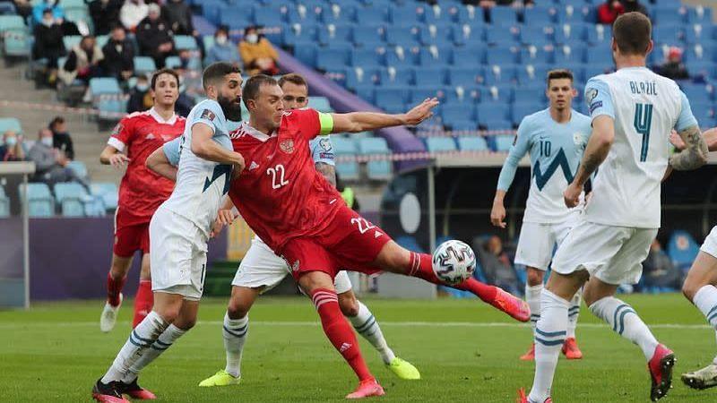 FIFA World Cup: বাছাই পর্বে স্লোভনিয়াকে ২-১ ব্যবধানে হারালো রাশিয়া