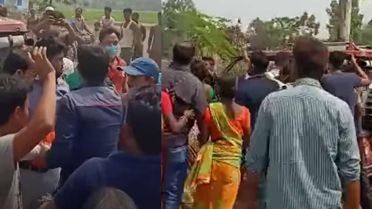 WB Election 21: কালিয়াগঞ্জের দলীয় প্রার্থী অপছন্দ, প্রার্থীর গাড়ি ভাঙচুর বিজেপি কর্মীদের