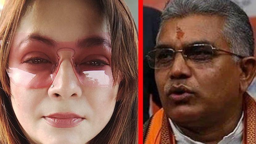 BJP-তে যোগ দেওয়া 'শিল্পীরা' কোথায়? - দিলীপ ঘোষের শিল্পীদের 'রগড়ে দেব'-র উত্তরে প্রশ্ন শ্রীলেখার