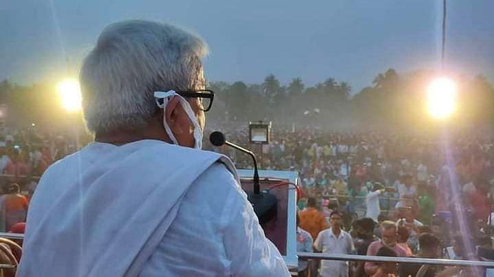 WB Election 21: RSS এর পরামর্শে জাতীয় কংগ্রেস ভেঙে তৃণমূল তৈরি করেছেন মমতা - বিমান বসু