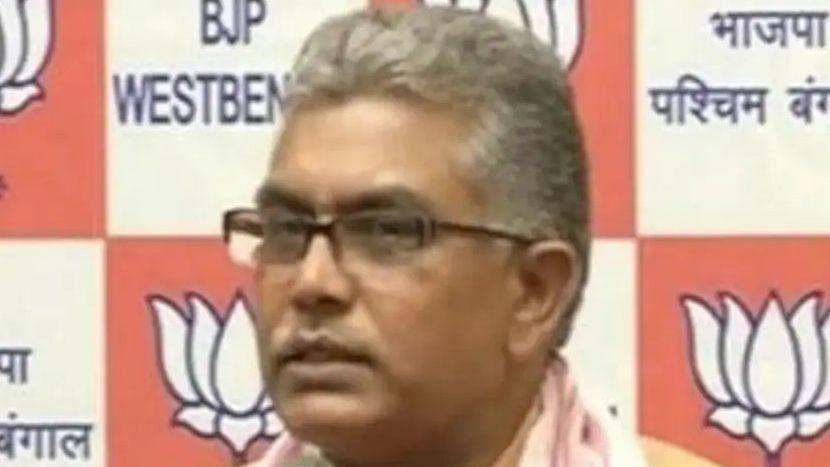 BJP রাজ্য সভাপতি দিলীপ ঘোষের নির্বাচনী প্রচারে ২৪ ঘণ্টার নিষেধাজ্ঞা নির্বাচন কমিশনের