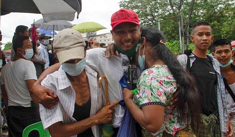 নতুন বছরে ২৩ হাজার বন্দিকে মুক্তি দিল মায়ানমারের সামরিক সরকার