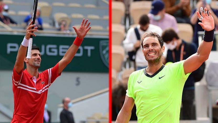 French Open: দুরন্ত ছন্দে শেষ ১৬য় রাফায়েল নাদাল, নোভাক জকোভিচ