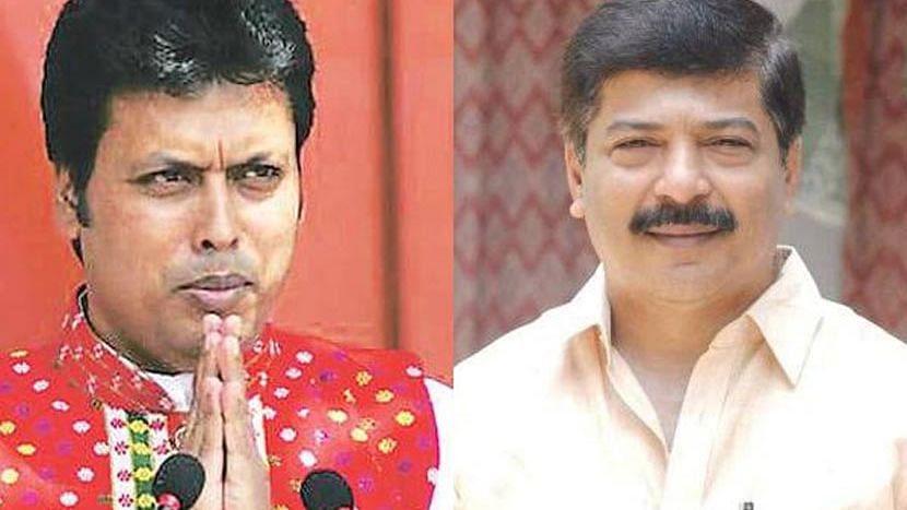 Tripura: দলত্যাগের গুঞ্জন উঠতেই BJP-র কেন্দ্রীয় নেতৃত্ব পৌঁছলেন আগরতলায়