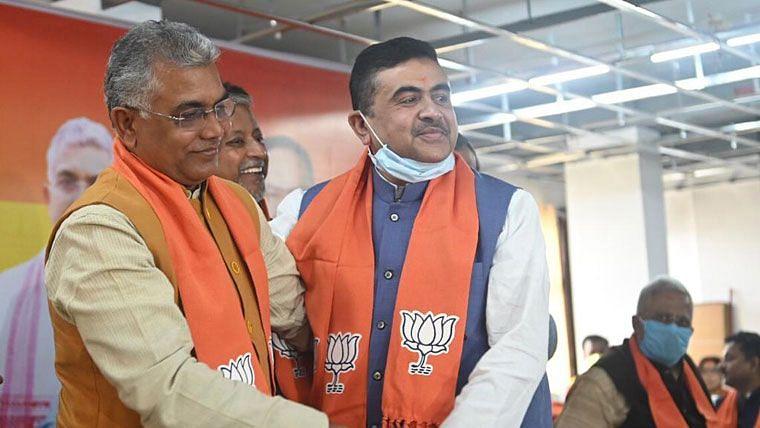 BJP-তে গুরুত্ব বাড়ছে শুভেন্দুর, চাপে দিলীপ?