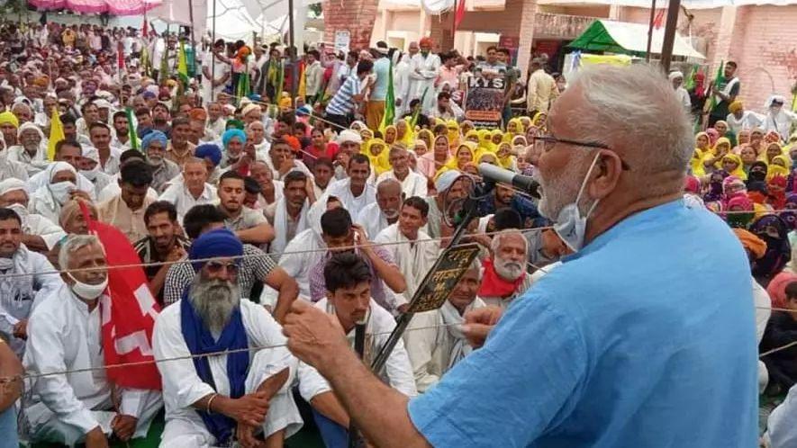 Farmers Protest: হরিয়ানায় গ্রেপ্তার হওয়া কৃষক নেতাদের মুক্তির দাবিতে থানা ঘেরাও