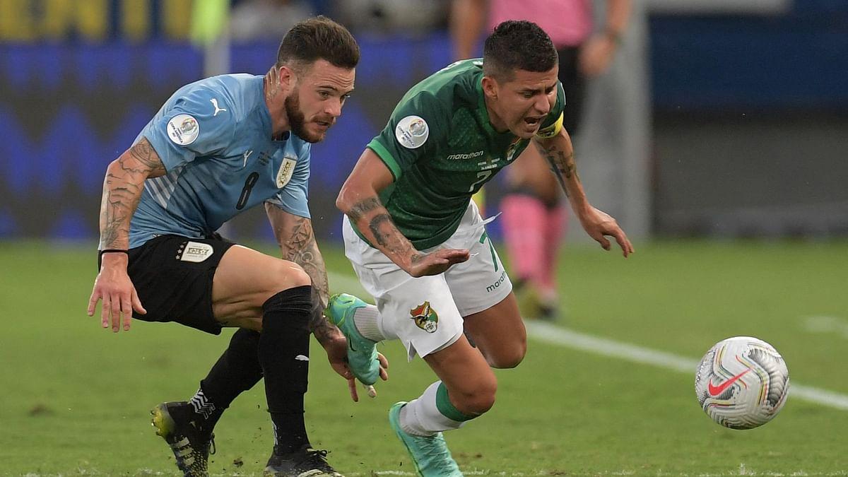 Copa America Cup: বলিভিয়াকে হারিয়ে প্রথম জয় উরুগুয়ের