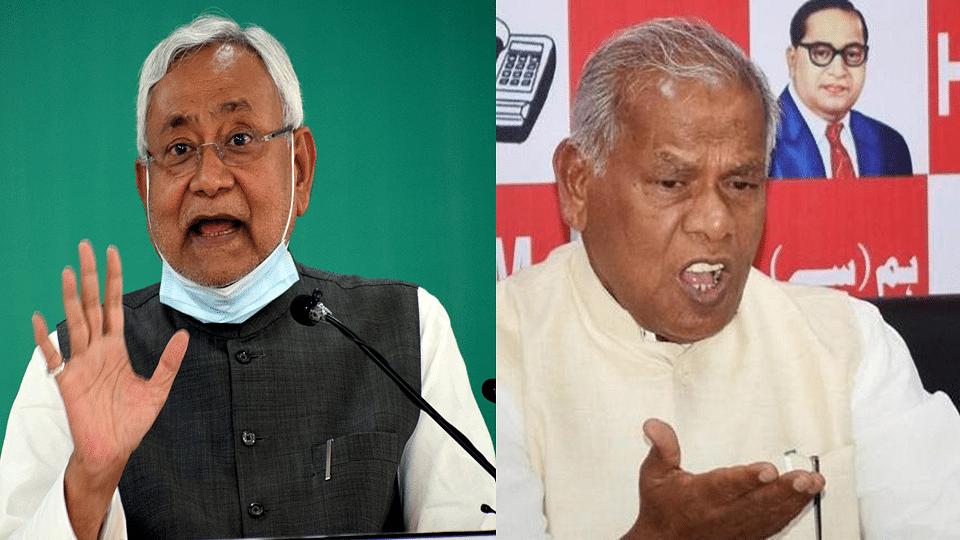 Bihar: নীতিশের বিরুদ্ধে জালিয়াতির অভিযোগ, দলিত IAS অফিসারের পাশে জোট শরিক জীতেন রাম মাঝি