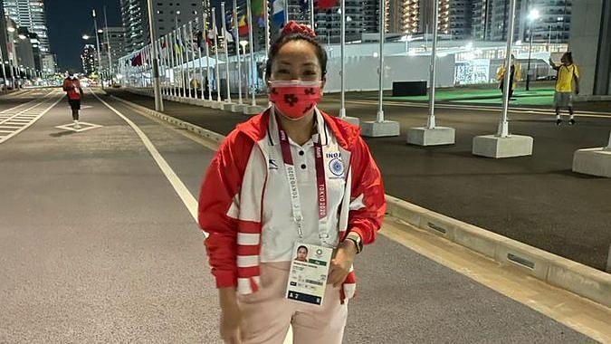Tokyo Olympics: টোকিওতে প্রথম অনুশীলনে নামলেন ভারতীয় ভারোত্তলক মীরাবাই চানু