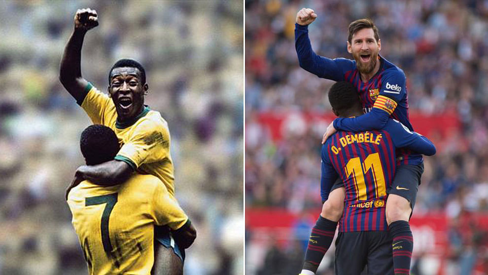 Copa America Cup: ব্রাজিলিয়ান কিংবদন্তী পেলের ঘাড়ে নিঃশ্বাস ফেলছেন মেসি