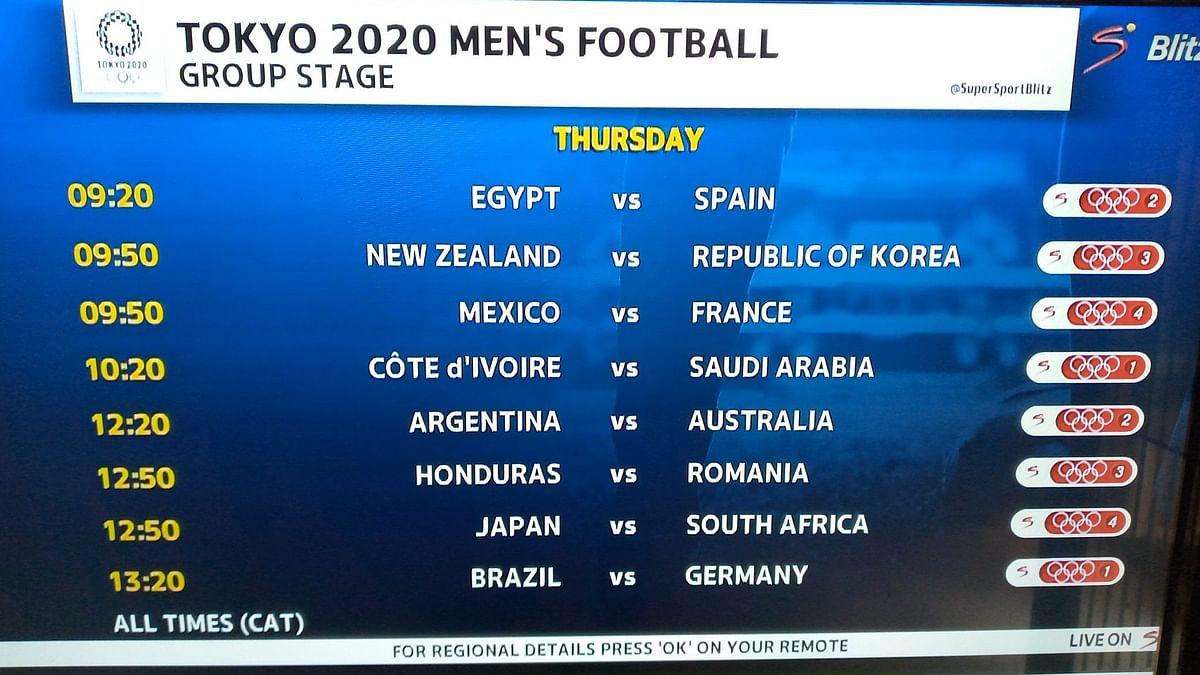Tokyo Olympics: ফুটবল শুরু ২২ জুলাই - ইজিপ্টের বিরুদ্ধে উদ্বোধনী ম্যাচে স্পেন
