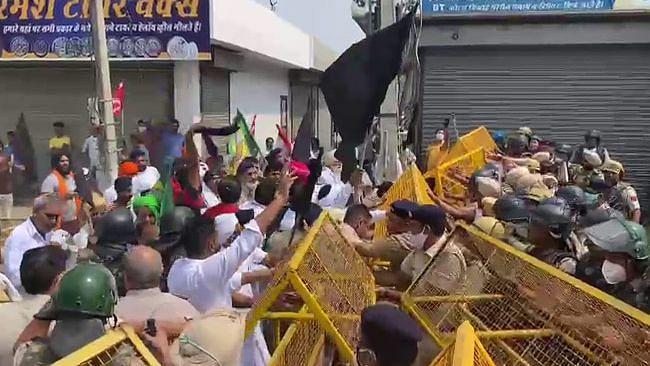 Haryana: ফতেহাবাদ, ঝাজ্জরে BJP নেতা, মন্ত্রীর সভা ঘিরে কৃষকদের বিক্ষোভ