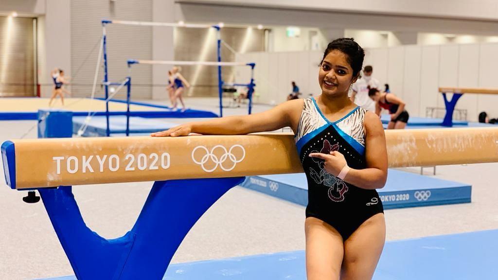 Tokyo Olympics: টোকিও পৌঁছেই প্র্যাকটিসে জিমন্যাস্ট প্রণতি নায়েক
