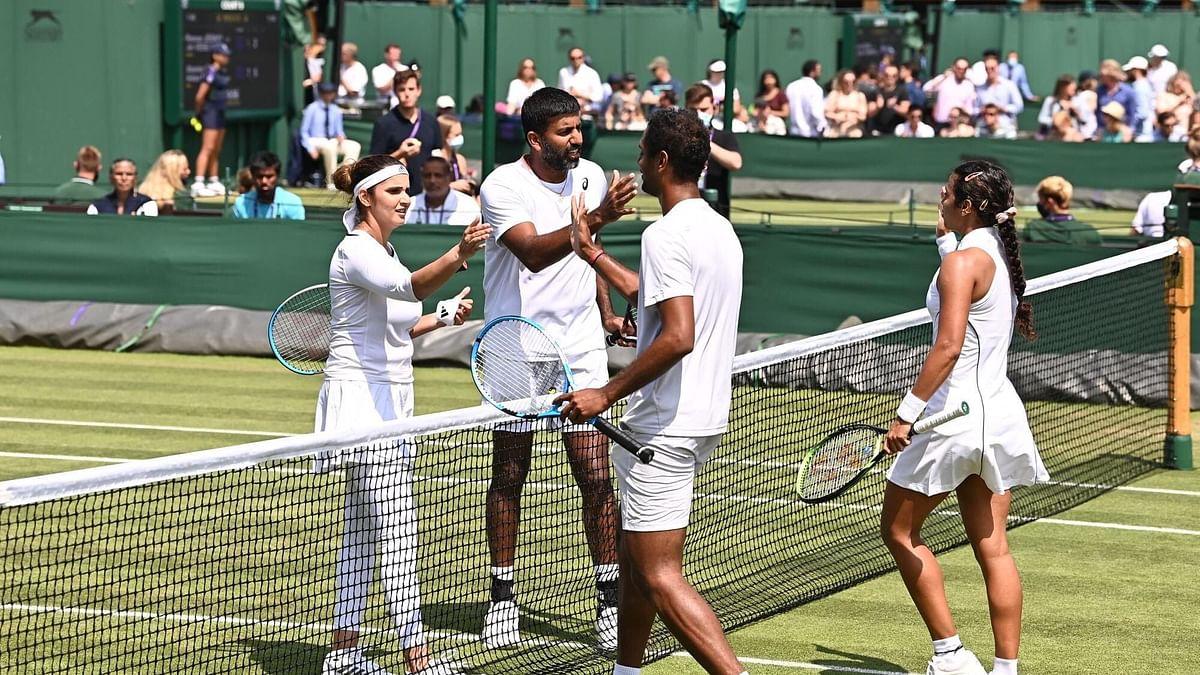 Wimbledon: প্রি কোয়ার্টার ফাইনালে সানিয়া-বোপান্না জুটির পরাজয়