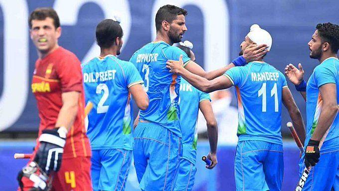 Tokyo Olympics: পুরুষদের হকিতে স্পেনের বিরুদ্ধে দুরন্ত জয় দিয়ে ছন্দে ফিরলো ভারত