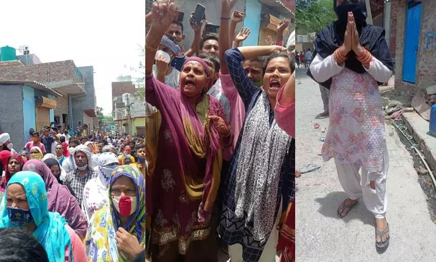 Khori evictions: জল ও বিদ্যুৎ বন্ধ করা হয়েছিল আগেই, এখন গ্রামের বাইরে দাঁড়িয়ে ১০টি বুলডোজার