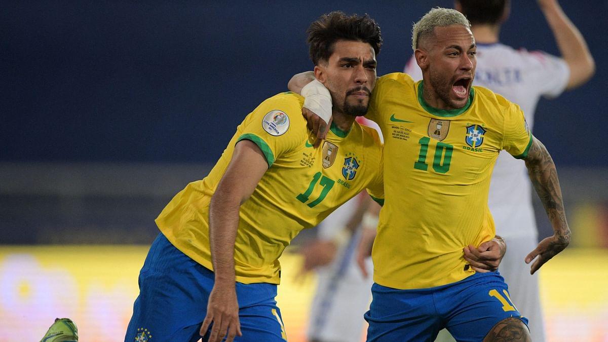 Copa America Cup: নাটকীয় ম্যাচে দশ জনের ব্রাজিল সেমিফাইনালে, সামনে পেরু
