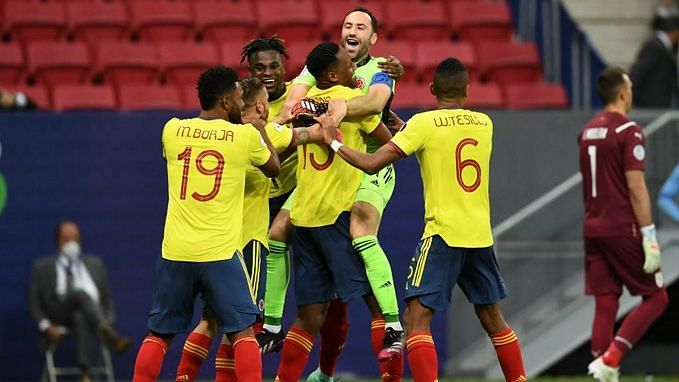 Copa America Cup: সুযোগ নষ্টের খেসারত উরুগুয়ের, কলম্বিয়ার কাছে টাইব্রেকারে হার