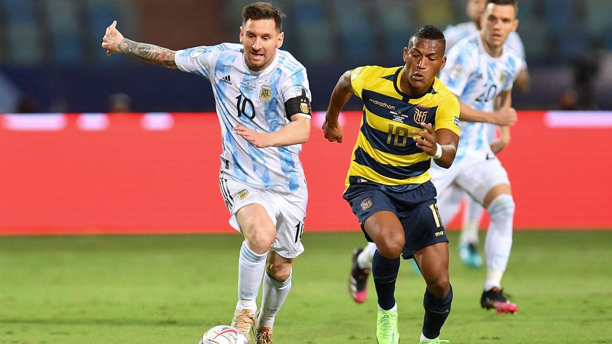 Copa America Cup: মেসি ম্যাজিকে ভর করে ইকুয়েডরকে হারালো আর্জেন্টিনা