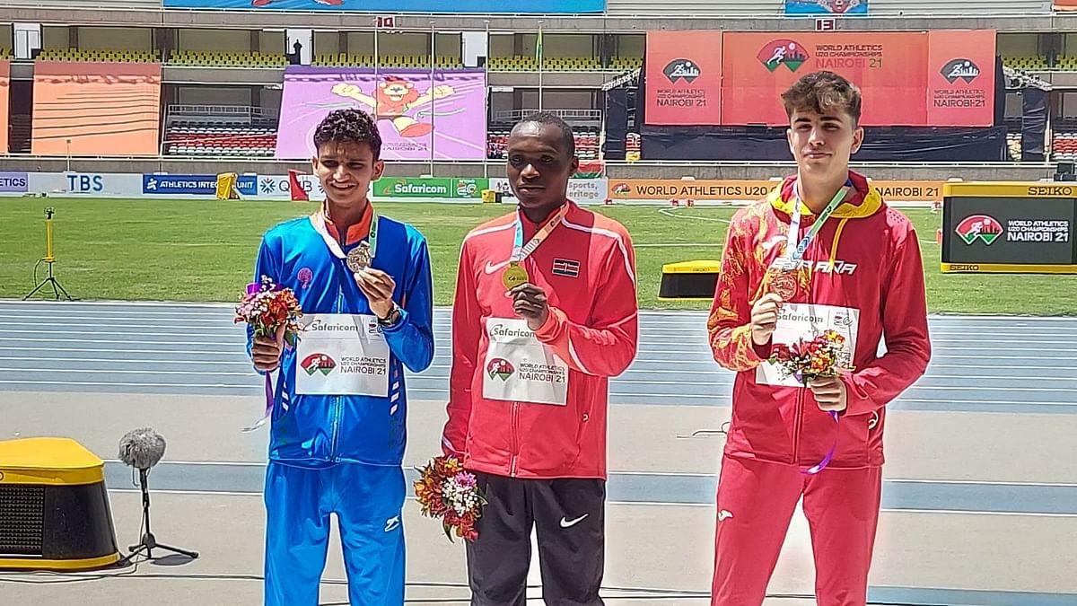 World Athletics U20: ১০ হাজার মিটার হাঁটায় রূপো জিতলেন ভারতের অমিত ক্ষেত্রী