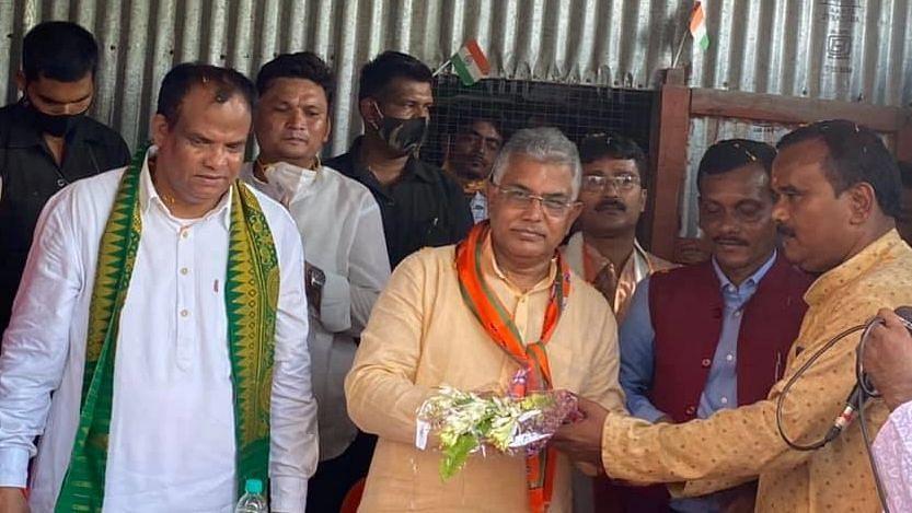 TMC সরকারই দায়ী এই দাবির জন্য, সুর বদলে পৃথক উত্তরবঙ্গ রাজ্য প্রসঙ্গে বার্লার পাশে দিলীপ