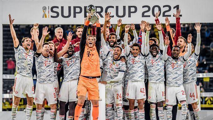 DFL-Supercup: লেভনডস্কির জোড়া গোল, ডর্টমুন্ডকে হারিয়ে জার্মান সুপার কাপ চ্যাম্পিয়ন বায়ার্ন